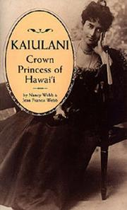 Cover of: Kaiulani, Crown Princess of Hawaii