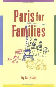 Cover of: Paris for Families (Family Travel Guides) (Paris for Families)