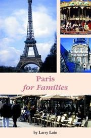 Cover of: Paris for Families (Family Travel Guides)