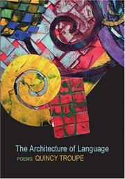 Cover of: The Architecture of Language