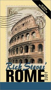 Cover of: Rick Steves' Rome 2001 (Rick Steves' Rome, 2001)