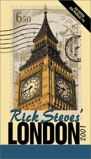 Cover of: Rick Steves' London 2001 (Rick Steves' London, 2001)