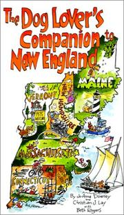 Cover of: The Dog Lover's Companion to New England