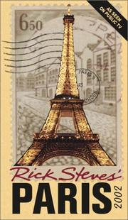 Cover of: Rick Steves' Paris 2002