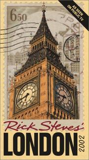 Cover of: Rick Steves' London 2002