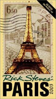 Cover of: Rick Steves' Paris 2003