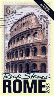 Cover of: Rick Steves' Rome 2003