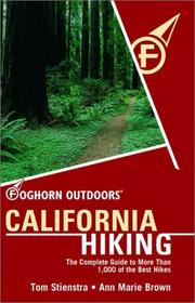Cover of: Foghorn Outdoors: California Hiking