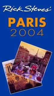 Cover of: Rick Steves' Paris 2004