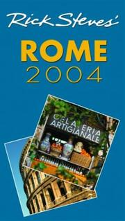 Cover of: Rick Steves' Rome 2004