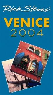 Cover of: Rick Steves' Venice 2004