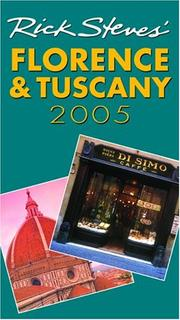 Cover of: Rick Steves' Florence and Tuscany 2005