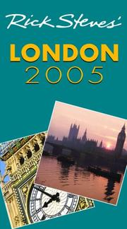 Cover of: Rick Steves' London 2005