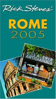 Cover of: Rick Steves' Rome 2005