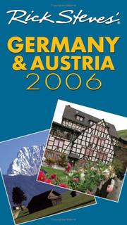 Cover of: Rick Steves' Germany and Austria 2006 (Rick Steves)