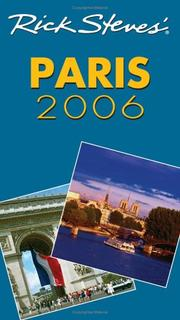 Cover of: Rick Steves' Paris 2006 (Rick Steves)