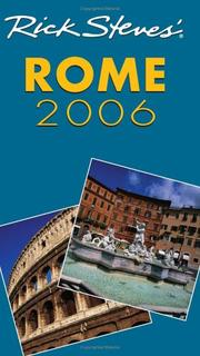Cover of: Rick Steves' Rome 2006 (Rick Steves)
