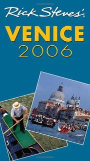Cover of: Rick Steves' Venice 2006 (Rick Steves)