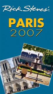 Cover of: Rick Steves' Paris 2007 (Rick Steves)