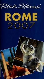 Cover of: Rick Steves' Rome 2007 (Rick Steves)