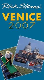 Cover of: Rick Steves' Venice 2007 (Rick Steves)