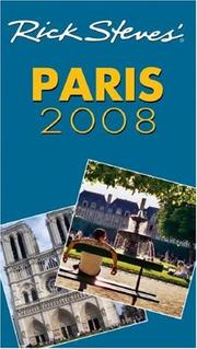 Cover of: Rick Steves' Paris 2008 (Rick Steves)