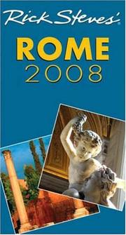 Cover of: Rick Steves' Rome 2008 (Rick Steves)