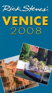 Cover of: Rick Steves' Venice 2008 (Rick Steves)
