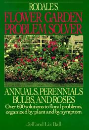 Cover of: Rodale's Flower Garden Problem Solver