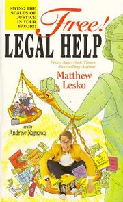 Cover of: Free Legal Help