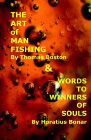 Cover of: Art of Manfishing & Words to Winners of Souls