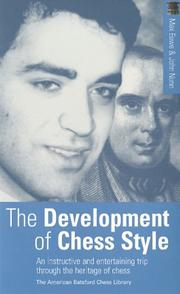 Cover of: The Development of Chess Style