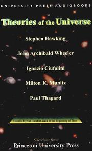 Cover of: Theories of the Universe