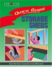 Cover of: Storage Sheds (Quick Guide)