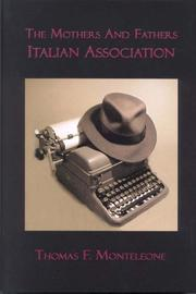 Cover of: The Mothers and Fathers Italian Association