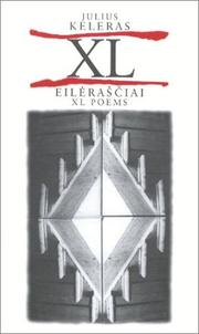 Cover of: XL Poems