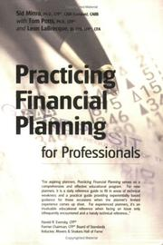 Cover of: Practicing Financial Planning for Professionals Textbook Version, Ninth Edition