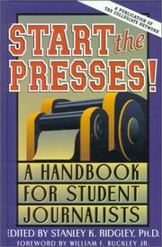 Cover of: Start the Presses!