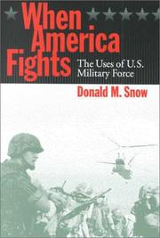 Cover of: When America Fights