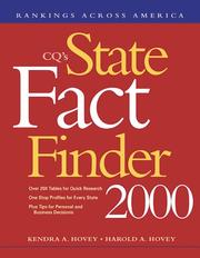 Cover of: Cq's State Fact Finder 2000