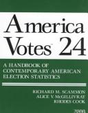 Cover of: America Votes 24