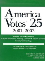 Cover of: America Votes 25