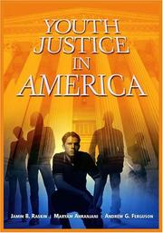 Cover of: Youth Justice In America