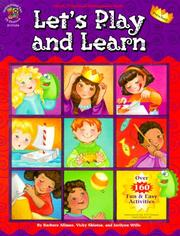 Cover of: Let's Play and Learn