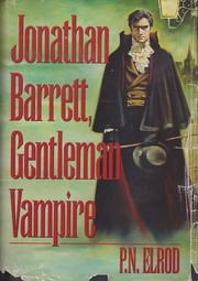 Cover of: Jonathan Barrett, Gentleman Vampire