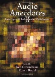 Cover of: Audio Anecdotes II