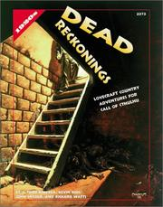 Cover of: Dead Reckonings (Call of Cthulhu Roleplaying Game)