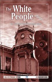 Cover of: The White People and Other Tales