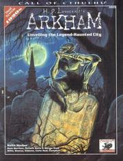 Cover of: H.P. Lovecraft's Arkham