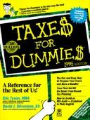 Cover of: Taxes for Dummies 1996